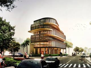COMMERCIAL IMG ARCHITECTS Bangunan Kantor Modern