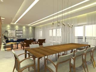 Apartamento MO Salas de jantar modernas por Assis Sercheli Arquitetura Moderno