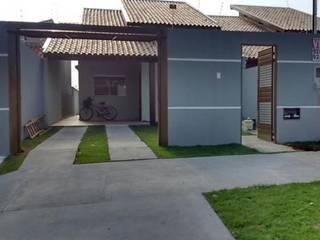Casa unifamiliar AJ: Casas familiares  por MARCELO CRAICI PROJETOS E OBRAS