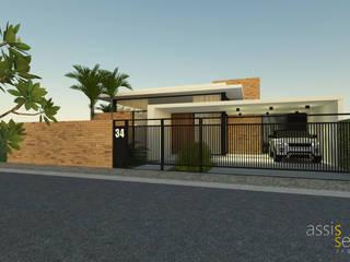 Residencia LM: Casas familiares  por Assis Sercheli Arquitetura