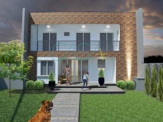 Casas unifamilares  por CASA+ Arquitetura