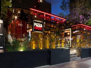 Boutique de Arquitectura (Sonotectura + Refaccionaria) Gastronomi Modern