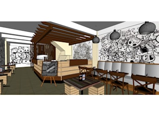 Asanka Interior Industrial style dining room