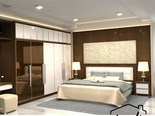 Asanka Interior BedroomBeds & headboards