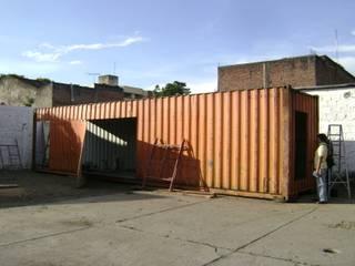 Transformación contenedor de 40 pies de Home Box Arquitectura Moderno