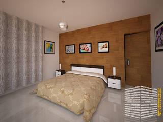 Kamar Tidur oleh HHRG ARQUITECTOS, Modern