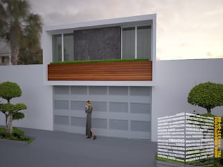 Single family home by HHRG ARQUITECTOS, Modern