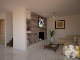 Ruang Multimedia oleh HHRG ARQUITECTOS, Modern