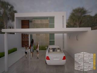 Дома на одну семью в . Автор – HHRG ARQUITECTOS, Модерн