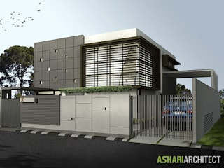 Palembang House Ashari Architect Rumah tinggal