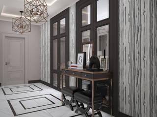 Квартира ЖК Триумф Коридор, прихожая и лестница в классическом стиле от Студия дизайна интерьера Ксении Деминой Классический