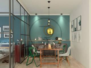 Repente Mimarlık – Bağdat Caddesinde üst sınıf konut projesinde İç Mekan Tasarımı: modern tarz , Modern