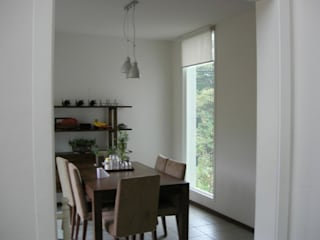 Country style dining room by (주)현대디자인건축 Country