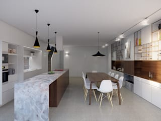 Built-in kitchens by Novispace