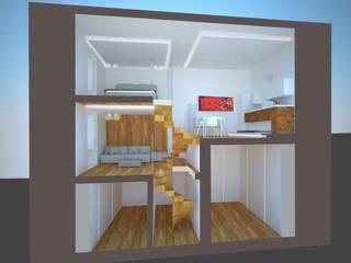 Casa B: Casa unifamiliare in stile  di Studio di architettura Polisano