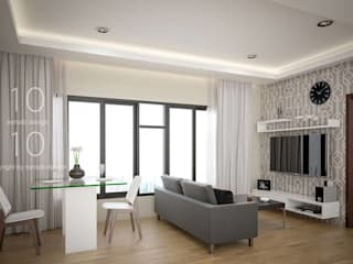 Interior Design The Green City Condominium:   by temsibdesign