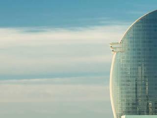 Rehabilitación Hotel W Barcelona:  de estilo  de GRAPHENSTONE