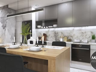 Modern style kitchen by MONOstudio Modern