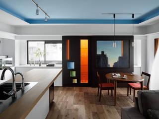 南青山リノベーション: 久保田章敬建築研究所が手掛けた現代のです。,モダン