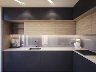 kuchnia - nie tylko dla odważnych: styl , w kategorii Kuchnia na wymiar zaprojektowany przez Nova