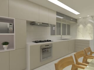 Kitchen units by A3 Arquitetura_