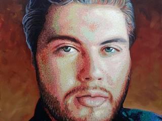 Retratos:  de estilo  por Neftalí Camacho Art