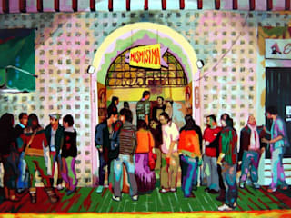 Escenas:  de estilo  por Neftalí Camacho Art