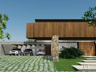 Residencia TB Casas rústicas por Assis Sercheli Arquitetura Rústico