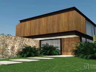 Residencia TB por Assis Sercheli Arquitetura Rústico