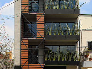 Boutique de Arquitectura (Sonotectura + Refaccionaria) บ้านสำหรับครอบครัว