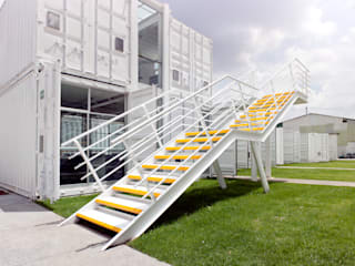 Boutique de Arquitectura (Sonotectura + Refaccionaria) Ruang Studi/Kantor Modern