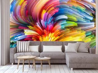 Fototapety na wymiar: styl , w kategorii Ściany zaprojektowany przez BajeczneObrazy.pl