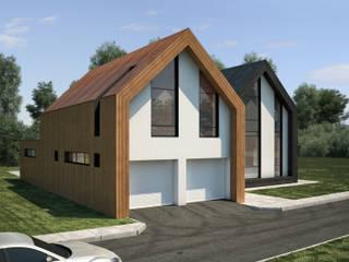 House Twins.:  в . Автор – HEADS Group. Архитектурное бюро Арсена Хаирова и Владислава Куликовского.