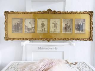 Maisondora Vintage Living Paredes y pisosCuadros y marcos Madera Ámbar/Dorado