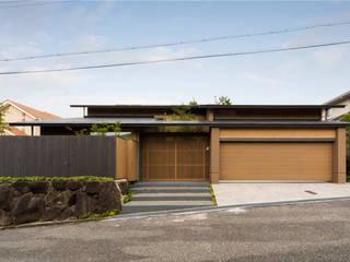 奈良の庭: 株式会社 荒木造園設計が手掛けた庭です。,
