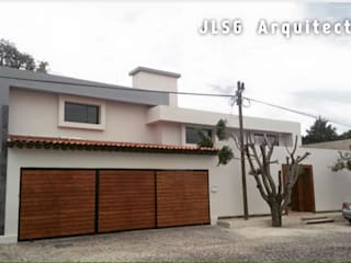 REMODELACION CASA HABITACION SANTA CRUZ GUADALUPE:  de estilo  por JLSG Arquitecto