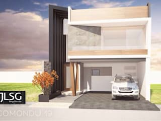 JLSG Arquitecto Detached home White