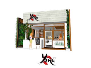 ร้านกาแฟ ญาณุ Identity Design & Architecture Part.,Ltd ร้านอาหาร