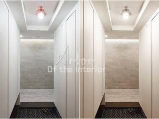 호텔객실같이 깔끔한 아파트 인테리어_47평대: 디자인 아버의  복도 & 현관,모던