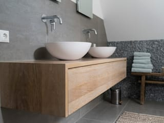 Bongers Architecten Country style bathroom