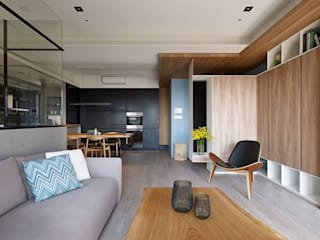 [HOME] Arching Design - Hue Yu Community: KD Panels의  거실