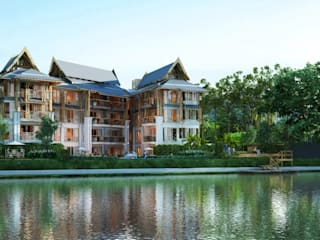 Baan Chiangmai Riverside:   by Numtonarchitects