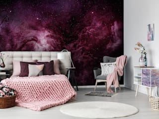Pixers Rainbow Pixers Modern style bedroom Purple/Violet