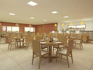 Projeto Arquitetônico: Salas de estar  por Maap Engenharia,Rústico
