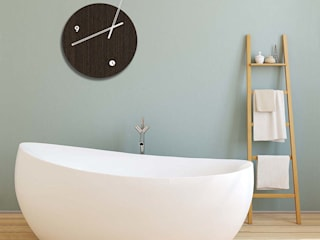 Bathroom Wall Styling: modern  by Just For Clocks,Modern