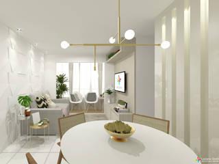 Ambientação Sala IV Salas de jantar modernas por Luciana Quirino Arquitetura e Urbanismo Moderno