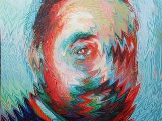 Rostros con efecto líquido:  de estilo  por Neftalí Camacho Art