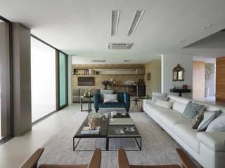 Salas de estilo moderno de Julice Pontual Arquitetura Moderno