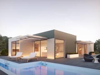 Capa Paredes e pisos modernos por Larservicegold, Lda. Moderno