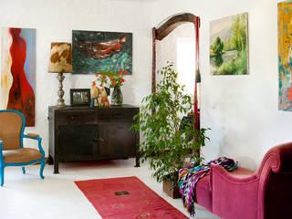 غرفة المعيشة تنفيذ Manumaya - Made with Love,